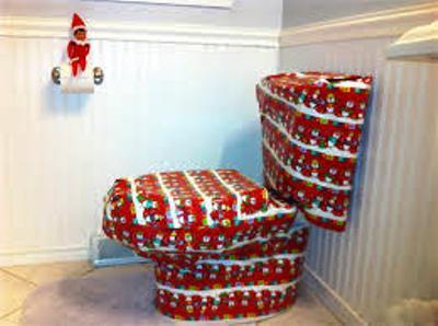wraping Toilet